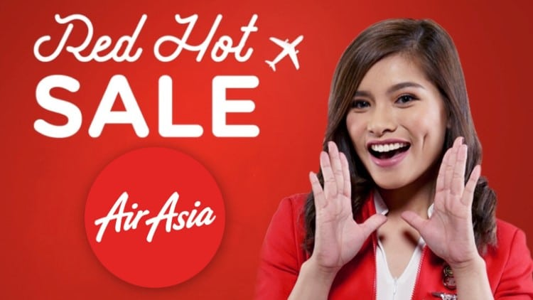 The AirAsia Red Hot Seat Sale is back! Fly from as low as P17!