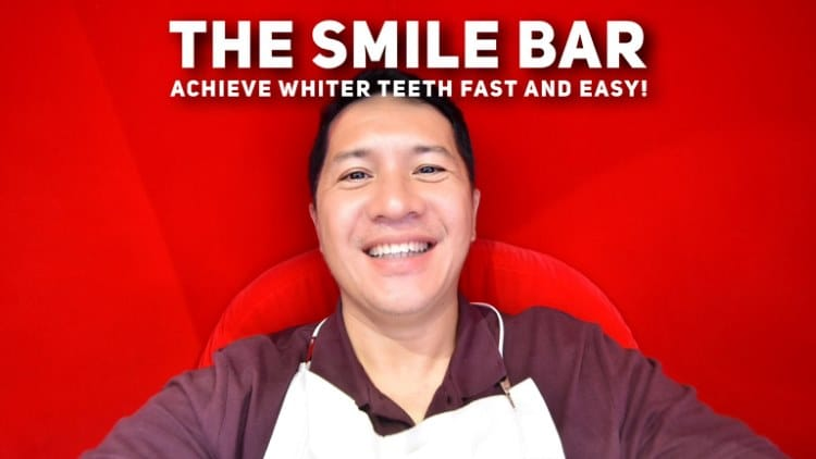 The Smile Bar in BGC – Achieve whiter teeth fast and easy!