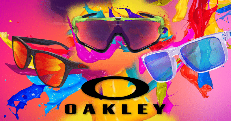 Sale alert! 40% Off on your fave Oakley customized eyewear! Hurry while you still can!