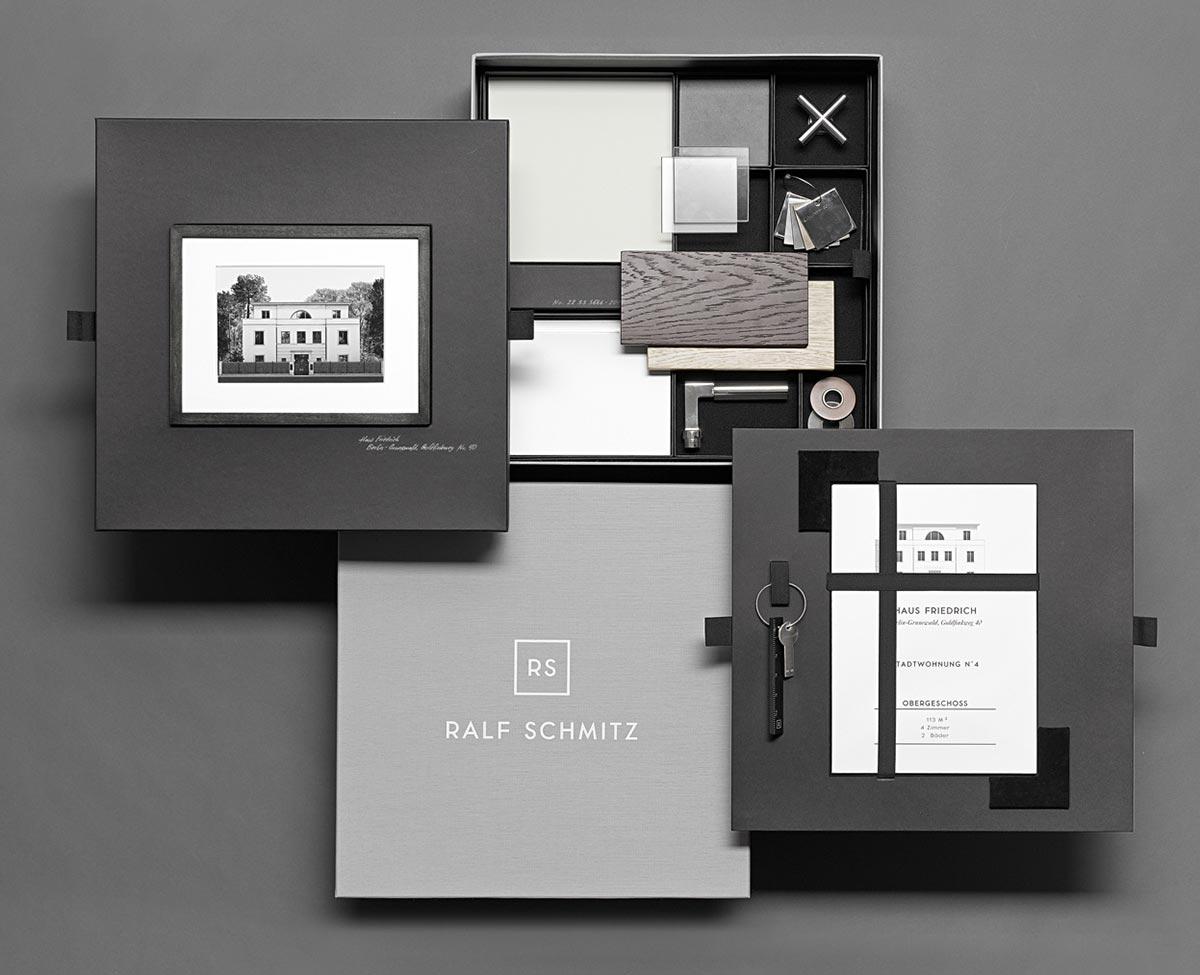 RALF-SCHMITZ-Box enthält Materialien im Stil des Projekts als Inspiration