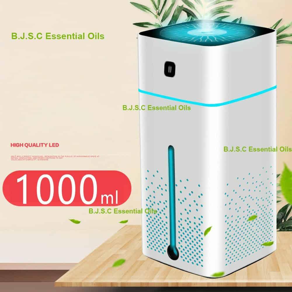 máy phun sương tinh dầu tạo ẩm thanh lọc không khí dung tich 1 lít