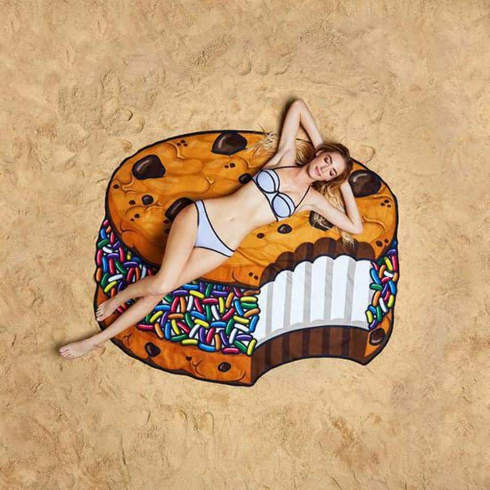 BigMouth Ice Cream Cookie Beach Towel