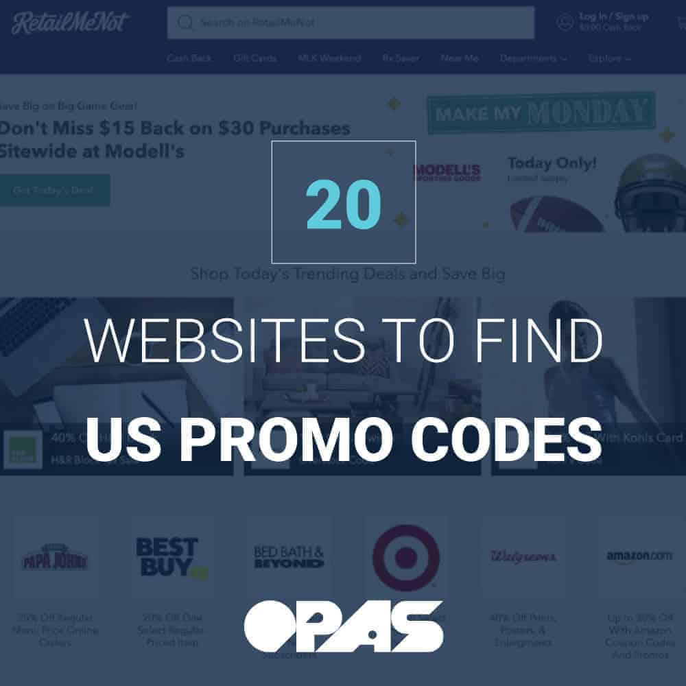 US Promo Codes | OPAS Blog