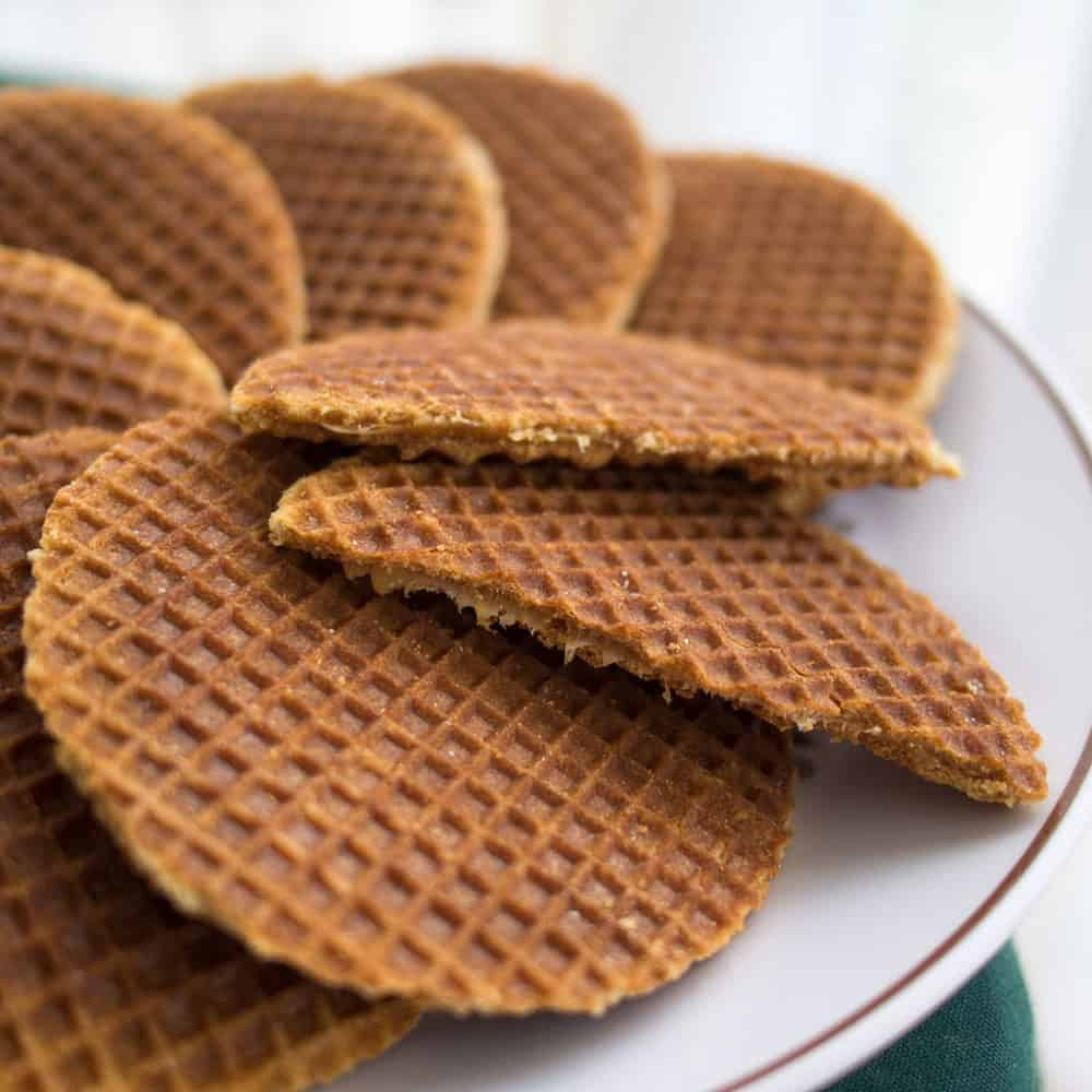 Stroopwafels are a dutch caramel filled cookie