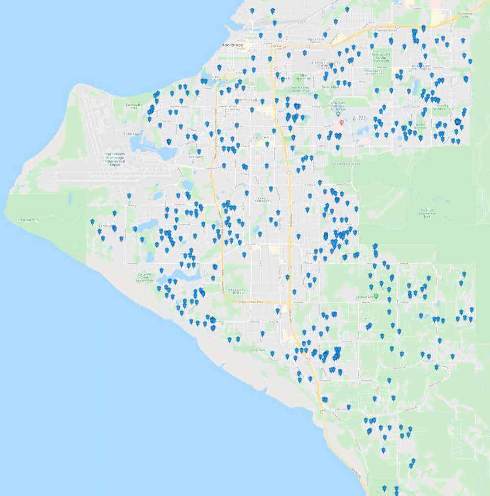 Alaska Premier Services-  2020 Lawn Care and Snow Plowing Clients