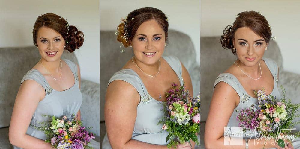 Portrait of bridesmaids