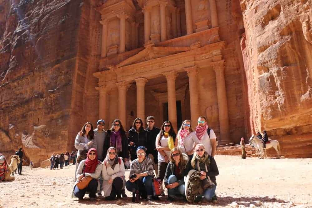 You will probably meet amazing people during a trip from Israel to Jordan!