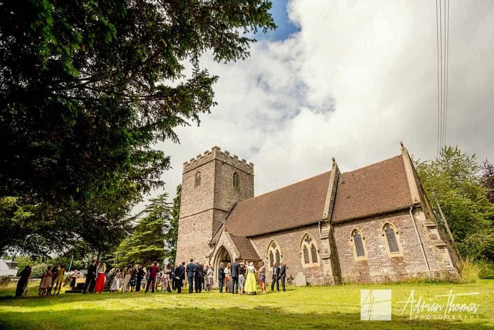 Llanfrynach church Brecon