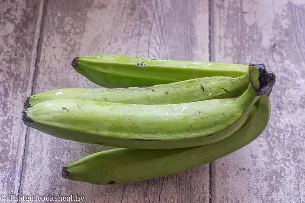 Green banana step 5