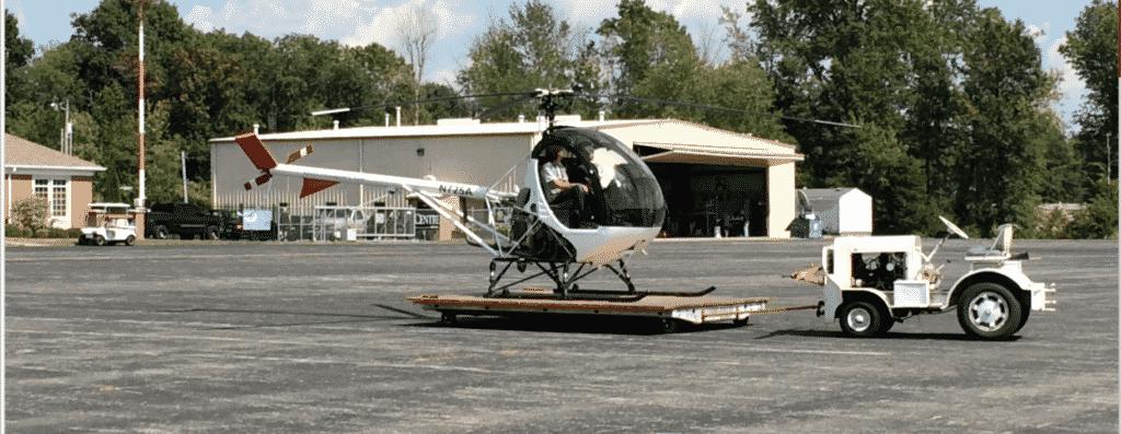 Schweizer 269C-1 or 300CB flight training helicopter