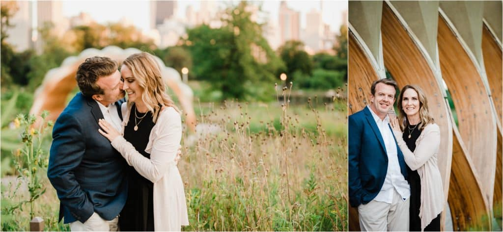 Chicago lifestyle engagement session in Lincoln Park