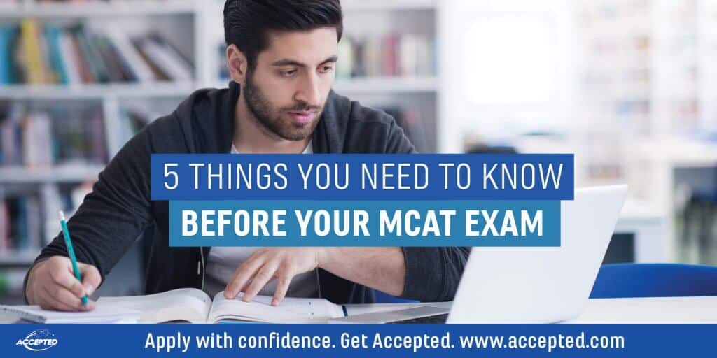 5 Things to Know Before Your MCAT