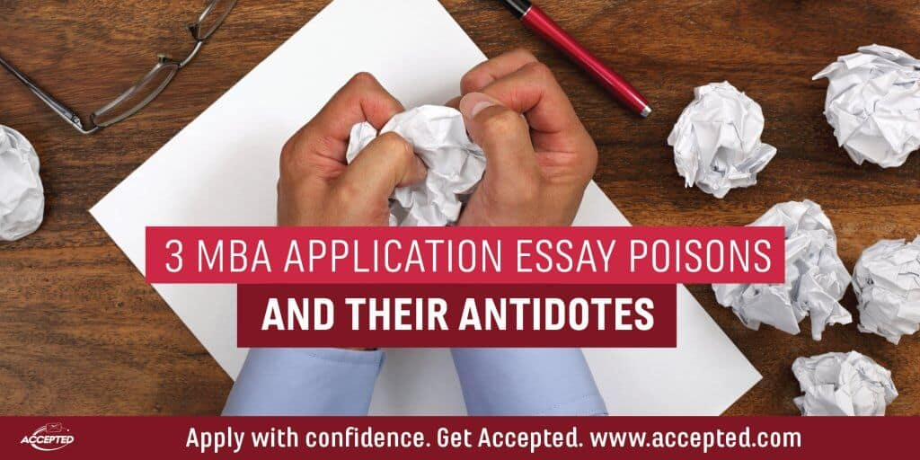 application essay mistakes
