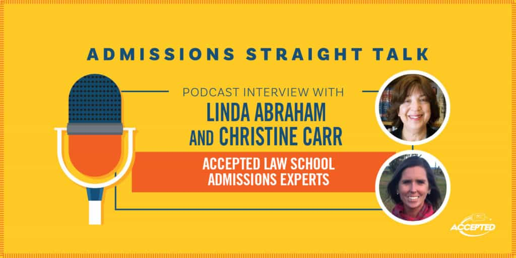 Two Admissions Experts on the Latest in Law School Admissions