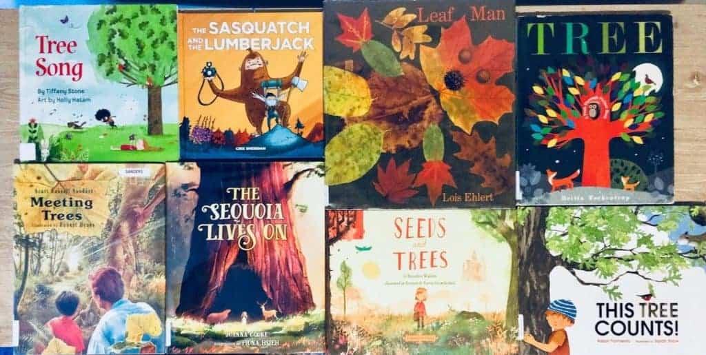 Montessori Tree Unit Study Picture Books