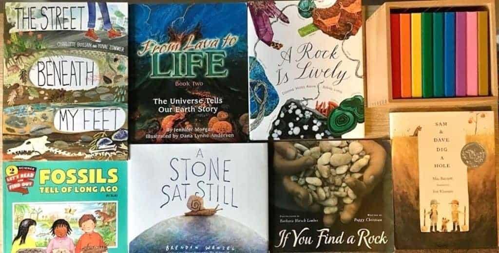 Montessori Geology & Paleontology Unit Study Picture Books