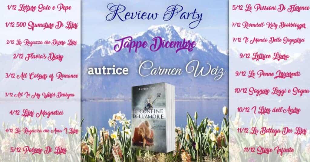 Review Party Il confine dell'amore di Carmen Weiz 4