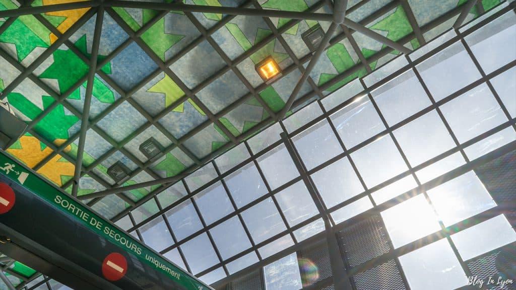 Art dans le métro Lyonnais - Blog In Lyon