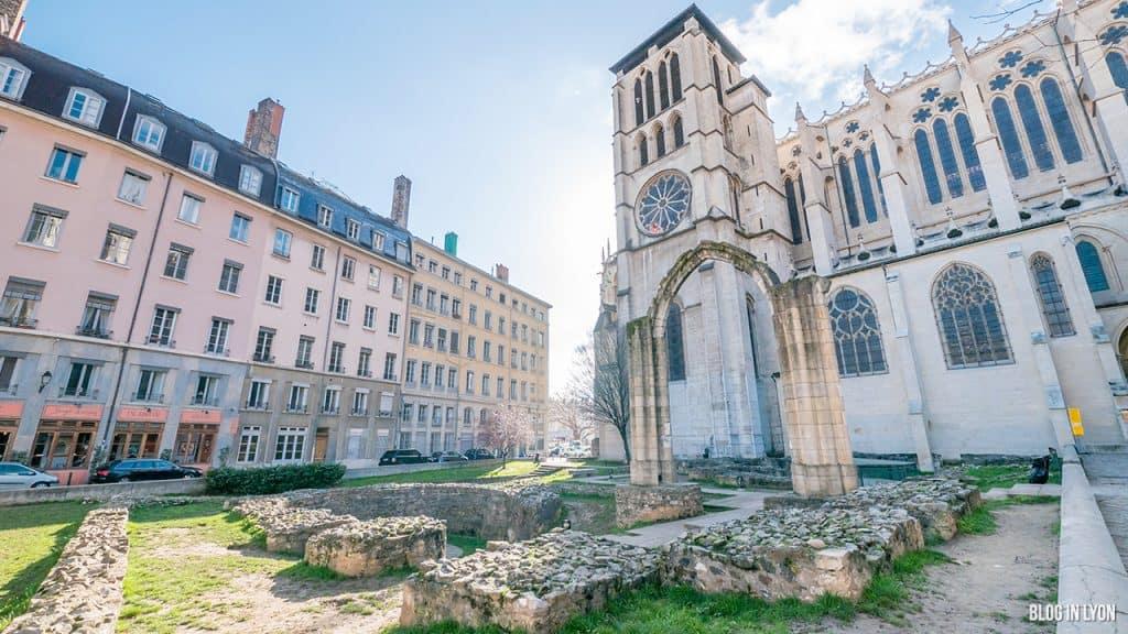 Visiter Lyon - Jardin archéologique Saint-Jean | Blog In Lyon