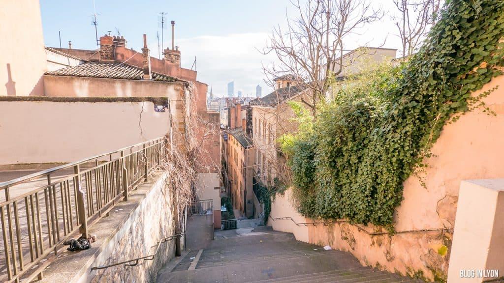Visiter Lyon - Montée du Change | Blog In Lyon
