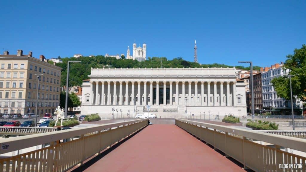 Visiter Lyon -  Palais de Justice | Blog In Lyon