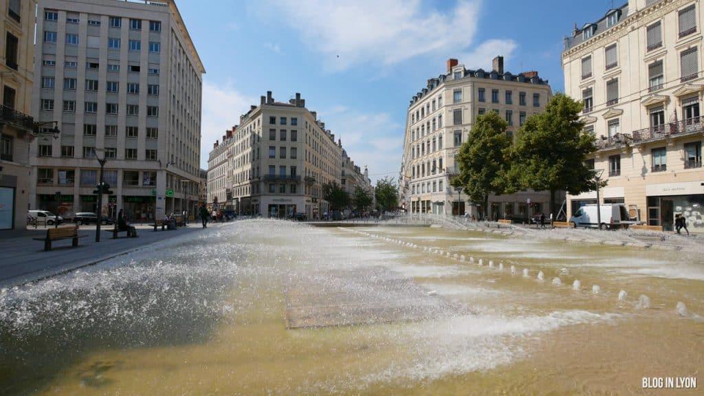 Visiter Lyon - Place de la République | Blog In Lyon