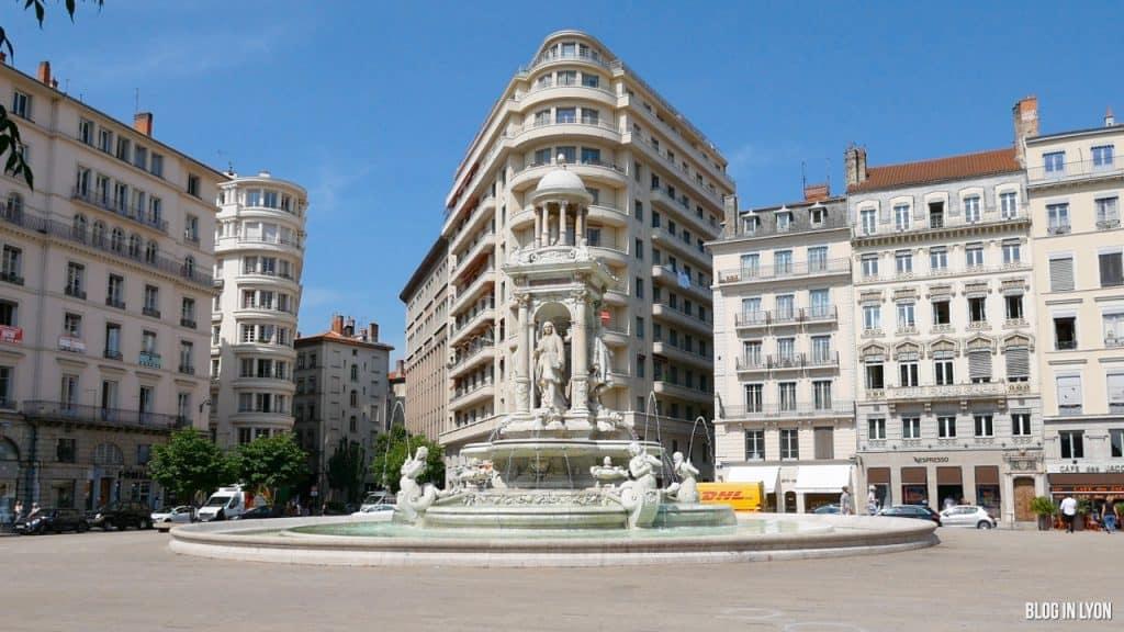 Visiter Lyon - Place des Jacobins | Blog In Lyon