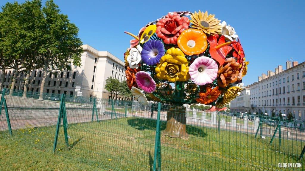 Visiter Lyon – Œuvre Jeong Hwa Choi | Blog In Lyon