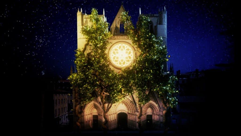 Fête des Lumières 2019 - Cathédrale Saint Jean Baptiste   Blog In Lyon
