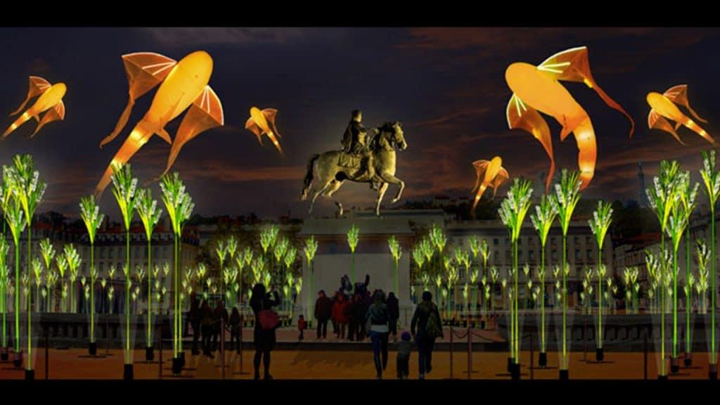 Fête des Lumières 2019 - Place Bellecour   Blog In Lyon