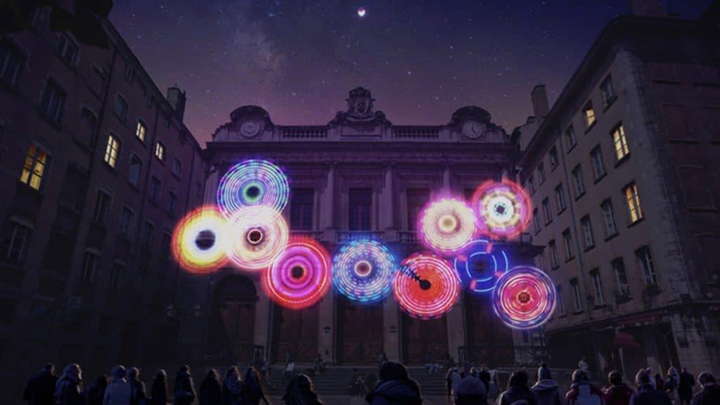 Fête des Lumières 2019 - Place du Change   Blog In Lyon