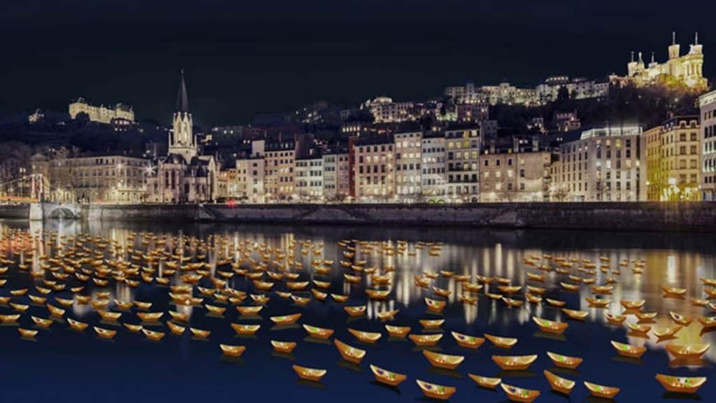 Fête des Lumières 2019 - Rives de Saône   Blog In Lyon