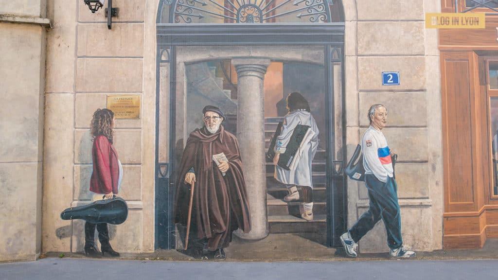 Secrets de Lyon - Fresques des Lyonnais | Blog In Lyon