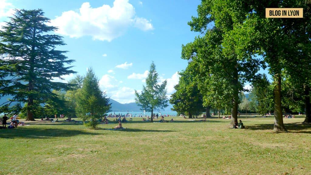 Lac du Bourget - Baignades autour de Lyon | Blog In Lyon