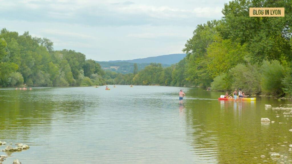 Où se baigner près de Lyon - Pont-de-chazey | Blog In Lyon