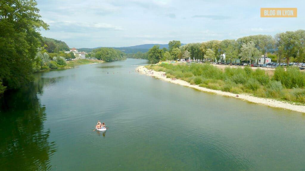 Idées baignades proches de Lyon - Pont-de-chazey | Blog In Lyon