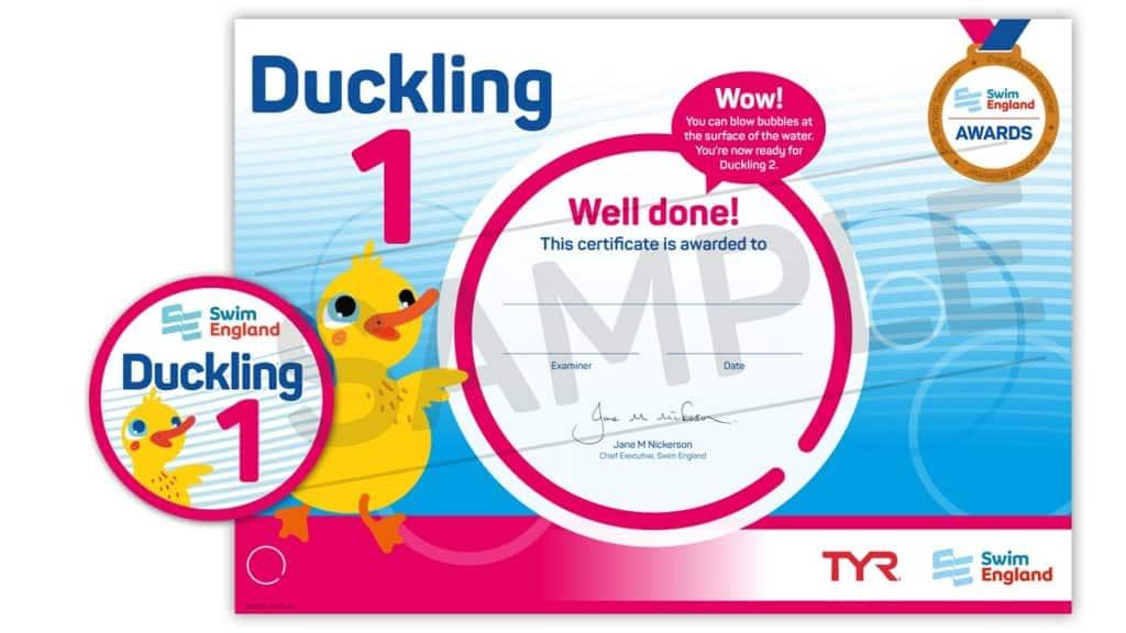 Ducklings 1 award