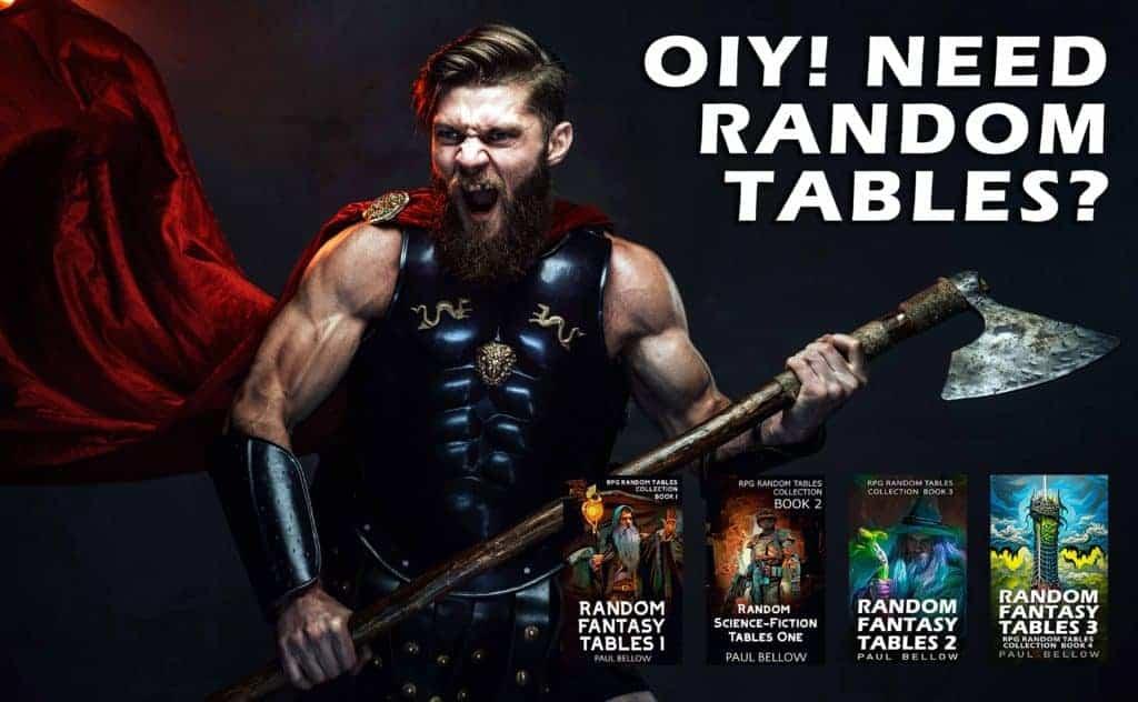 D&D Random Encounter Tables