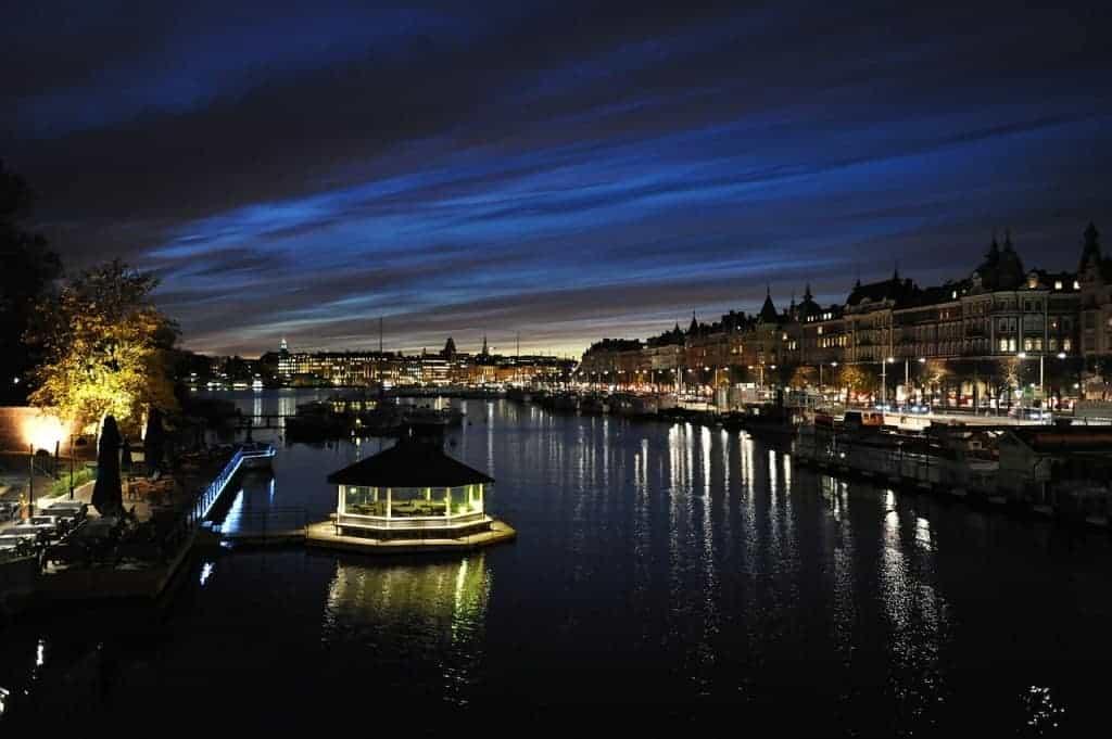 Stockholm by night romantic