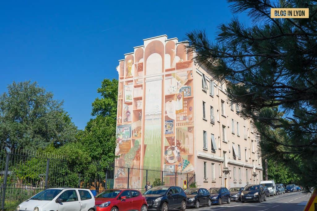 Fresques et murs peints - Rive Gauche - Fresque de Gerland   Blog In Lyon