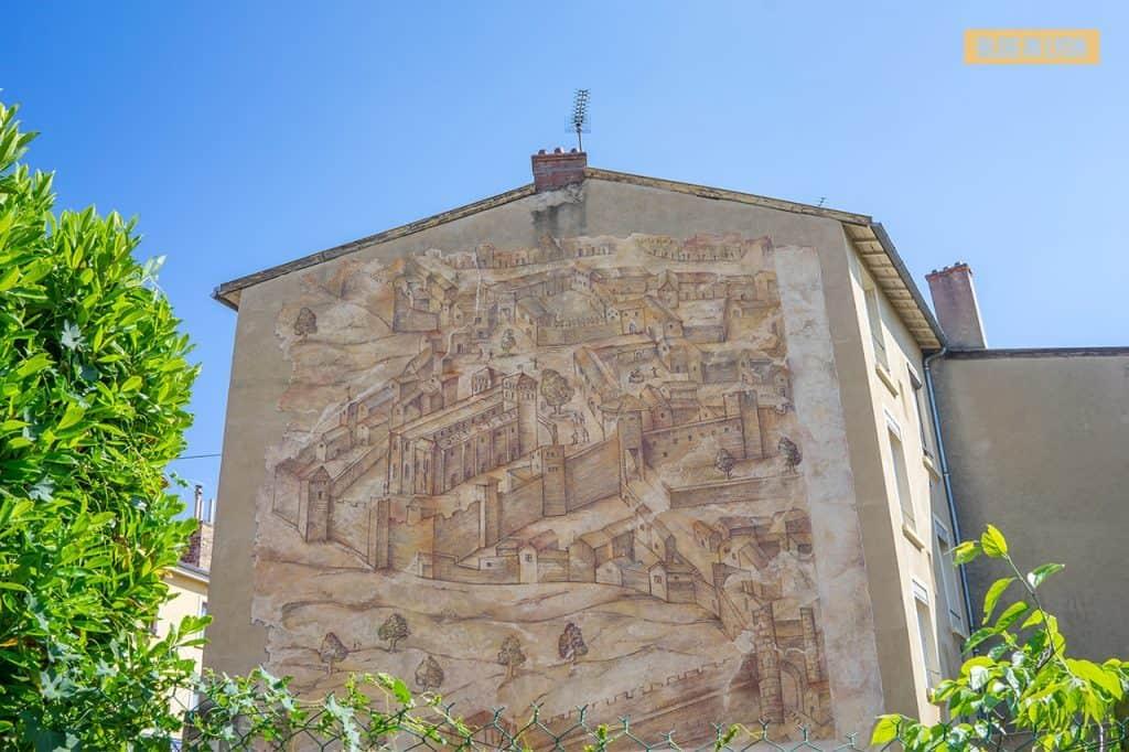 Fresque Basilique Saint Just - Top 15 des plus beaux murs peints de Lyon   Blog In Lyon