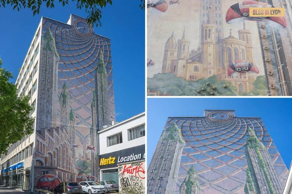 Fresque Lumière - Mur peint Lyon   Blog In Lyon