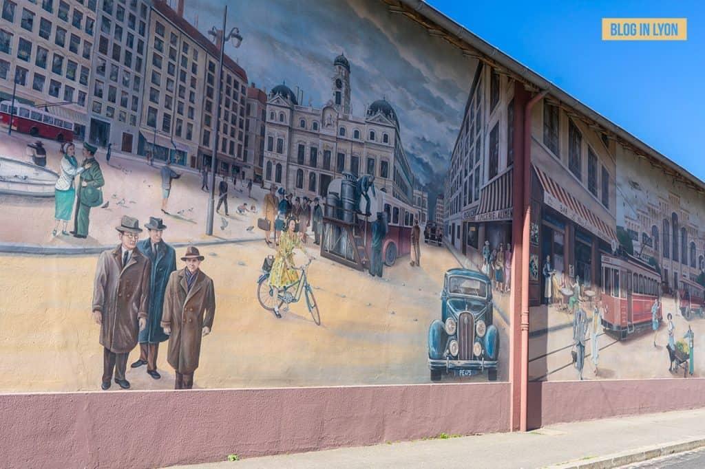 FresqueVoyages dans la ville - Top 15 des plus beaux murs peints de Lyon   Blog In Lyon