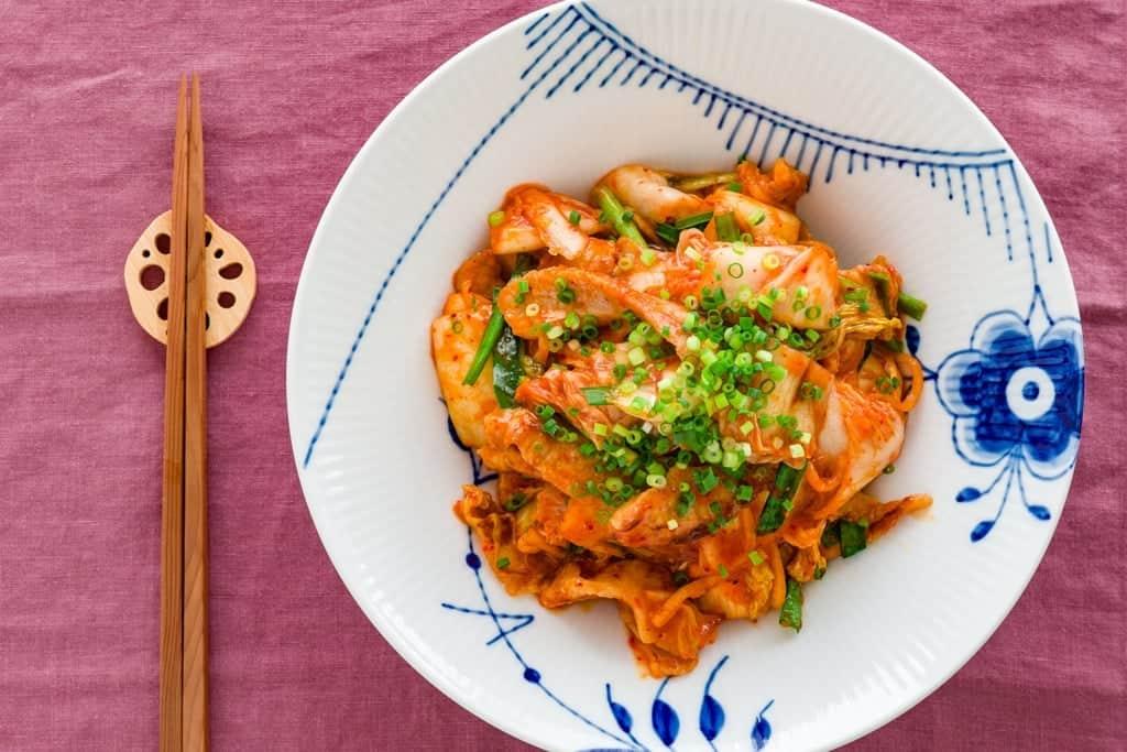 Buta Kimuchi is a popular Korean-style pork and kimchi stir-fry in Japan.