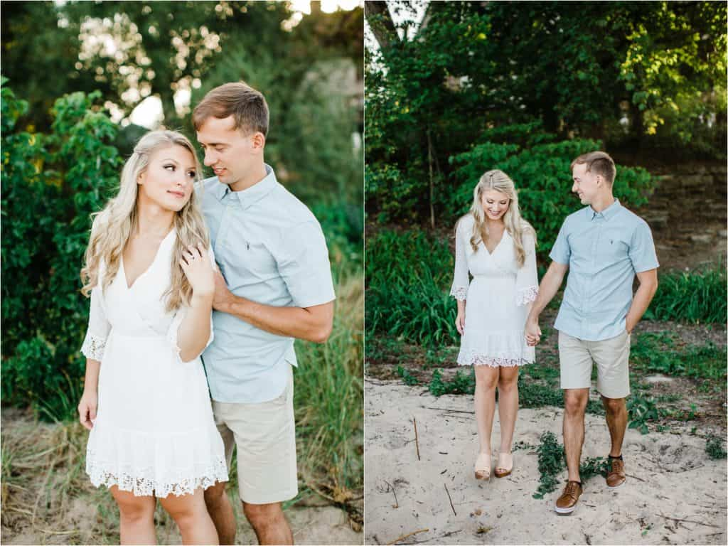 engagement session photography in Chicago