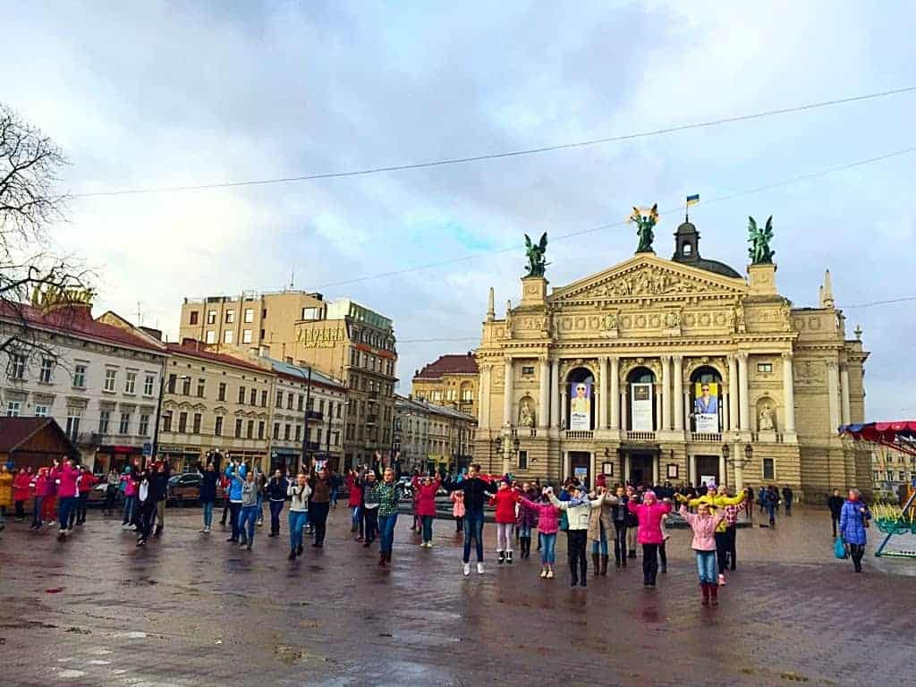 The opera in Lviv is one of the most beautiful in Europe.