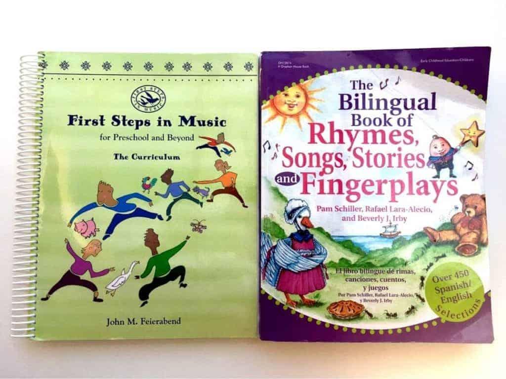 Preschool Music Curriculum Books