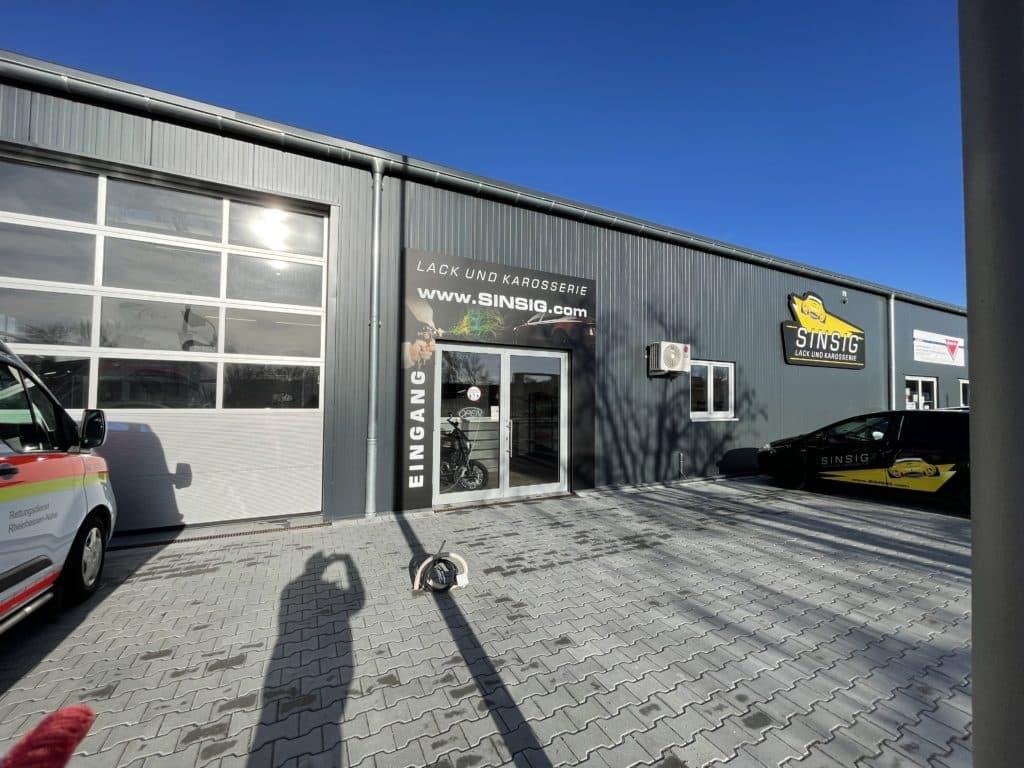 Autolackierei Werkstatt