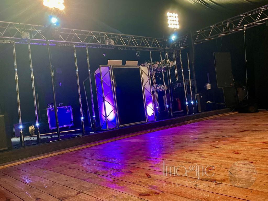 Katy & David's evening reception at Hockwold Hall