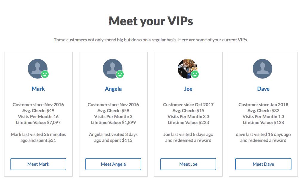 VIP customers